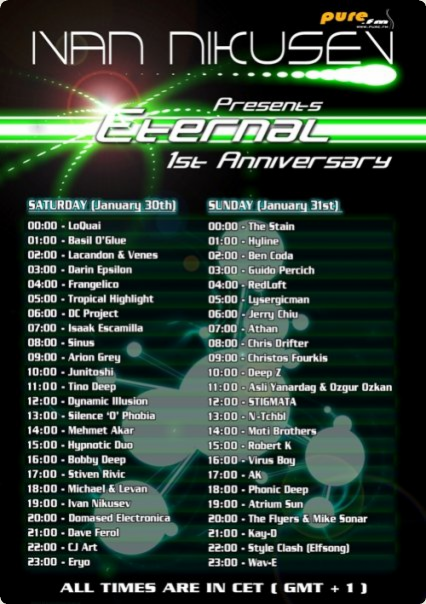 Eternal - 1st Anniversary